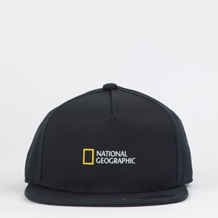 Boné Vans Boys National Geographic Snapback Black VN0A4MP7BLK Black