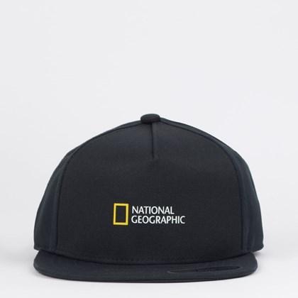 Boné Vans Boys National Geographic Snapback Black VN0A4MP7BLK Black