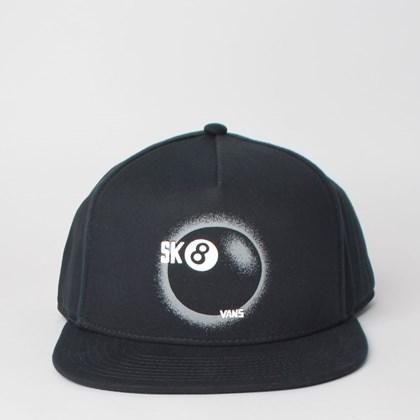 Boné Vans Bragg Snapback Black VN0A3I1CBLK