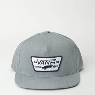 Boné Vans By Full Patch Snapback Boys Heather Grey VN000U8GHTG