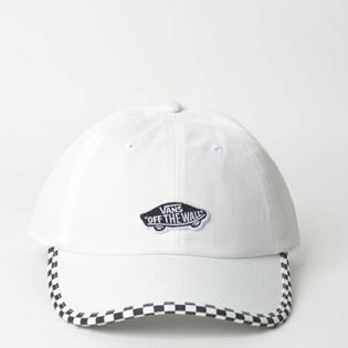 Boné Vans Check It Hat White Checkerboard VN0A3UQDC13