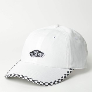 Boné Vans Check It Hat White Checkerboard VN0A3UQDC13