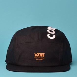 Boné Vans Cordura Camper Black VN0A3I76BLK