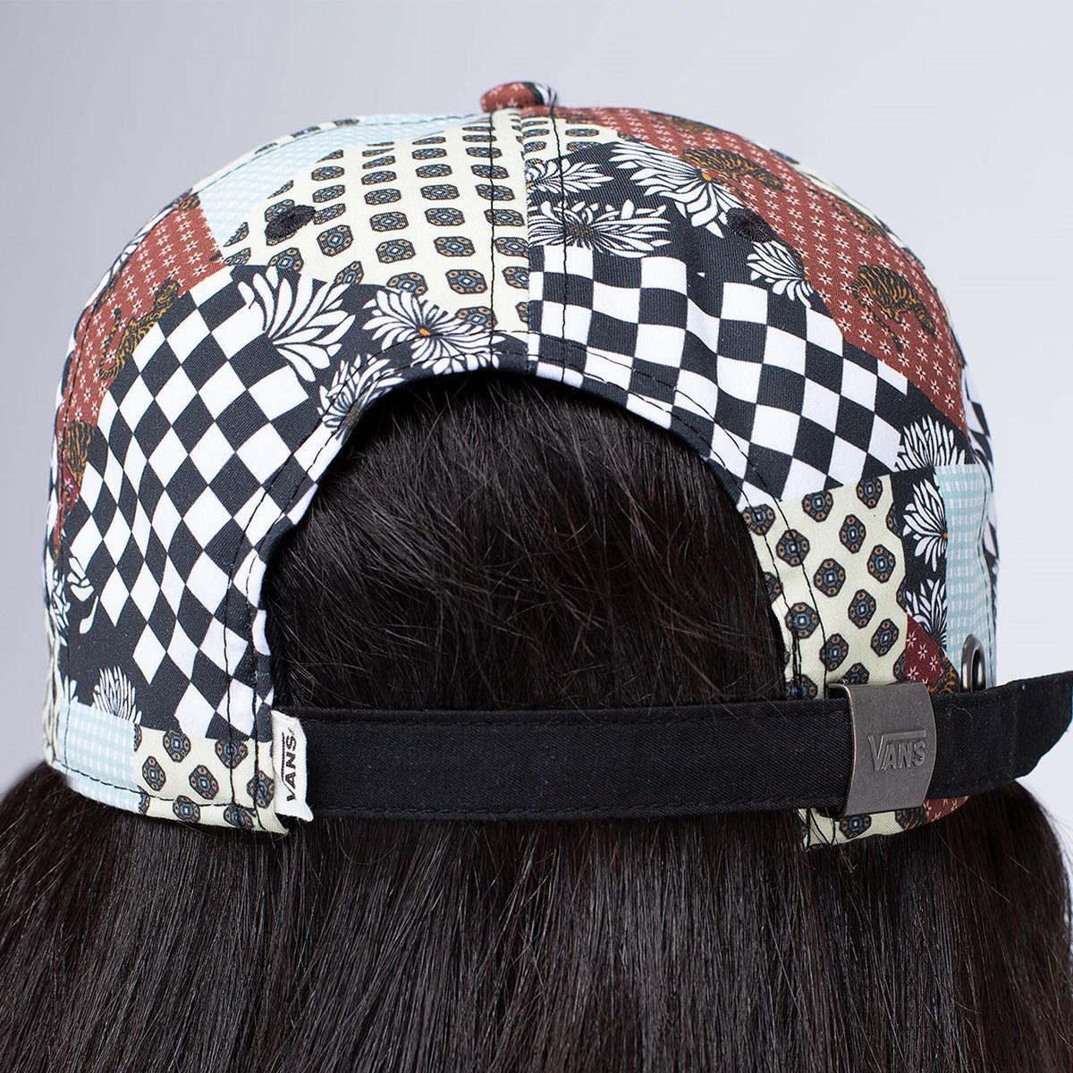 Boné Vans Court Side Printed Hat Floral Patchwork VN0A34GRZL7