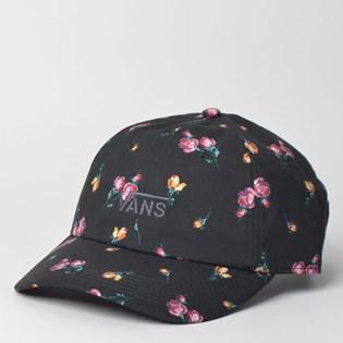 8fc40001ead Boné Vans Court Side Printed Hat Satin Floral VN0A34GRUV3 ...