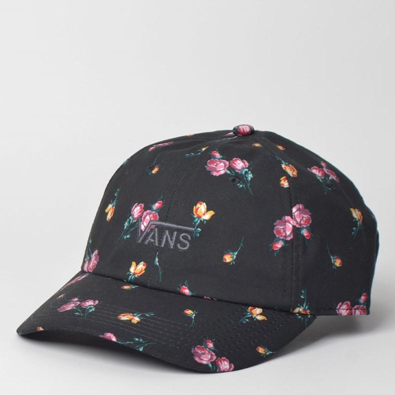 0ccf3d42ded Boné Vans Court Side Printed Hat Satin Floral VN0A34GRUV3 - Loja Virus