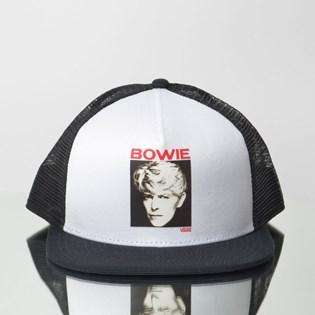 Boné Vans David Bowie White Black VN0A3I4FYB2