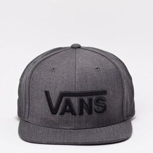 Boné Vans Drop V Snapback Black VN-00YEBKA