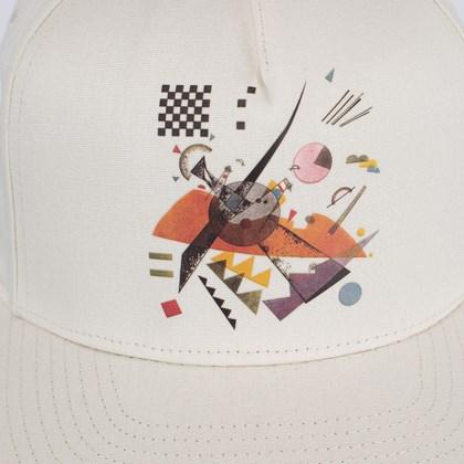 Boné Vans MoMA Vasily Kandinsky Snapback Cream VN0A4TQD1ID