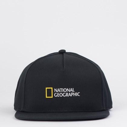 Boné Vans National Geographic Snapback Black VN0A4MP6BLK