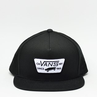 Boné Vans Snapback Full Patch Black VN-0QPU9RJ
