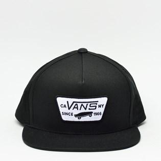 Boné Vans Snapback Full Patch Black VN-0QPU9RJ
