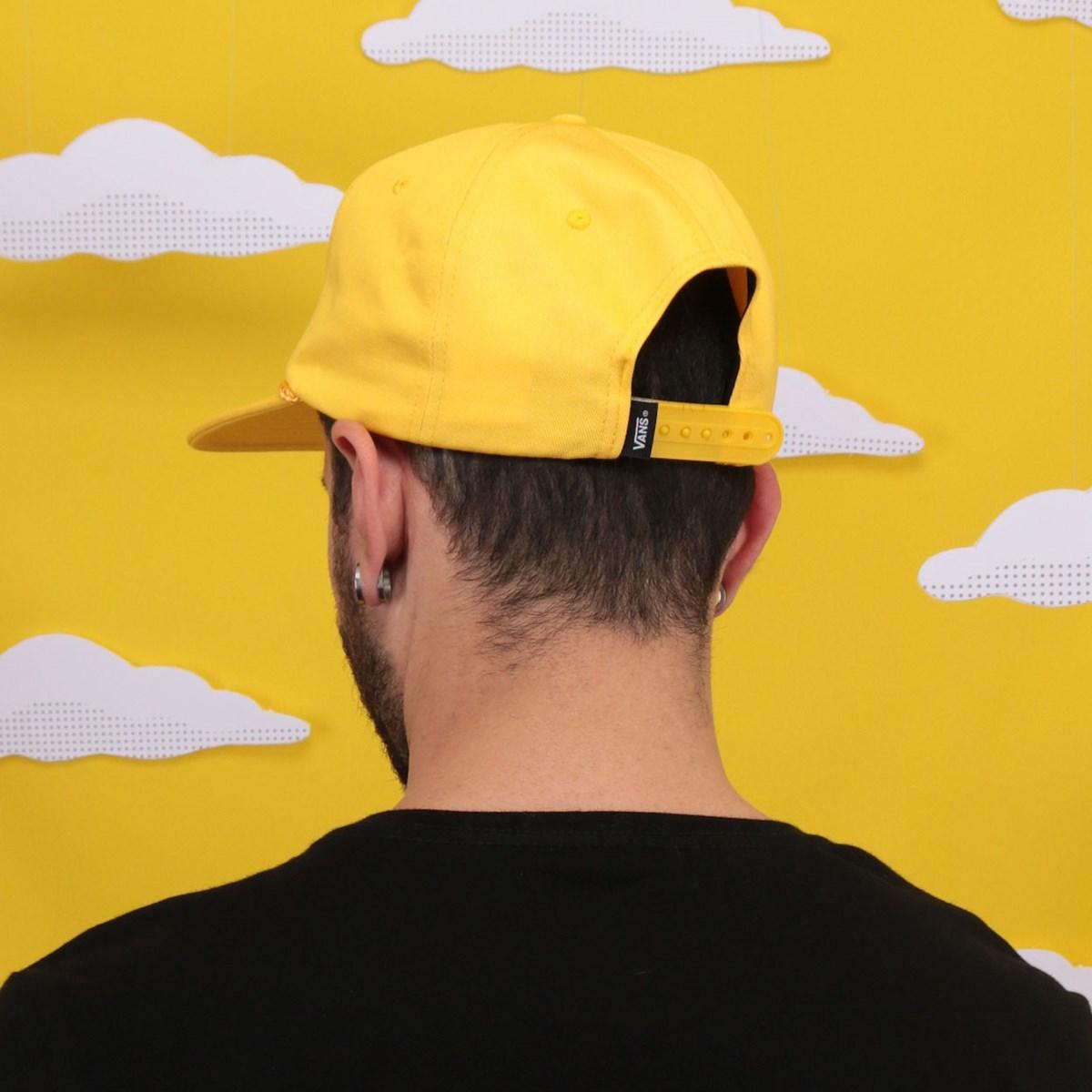 Boné Vans The Simpsons Krusty Snapback Yellow VN0A4TQEZW3