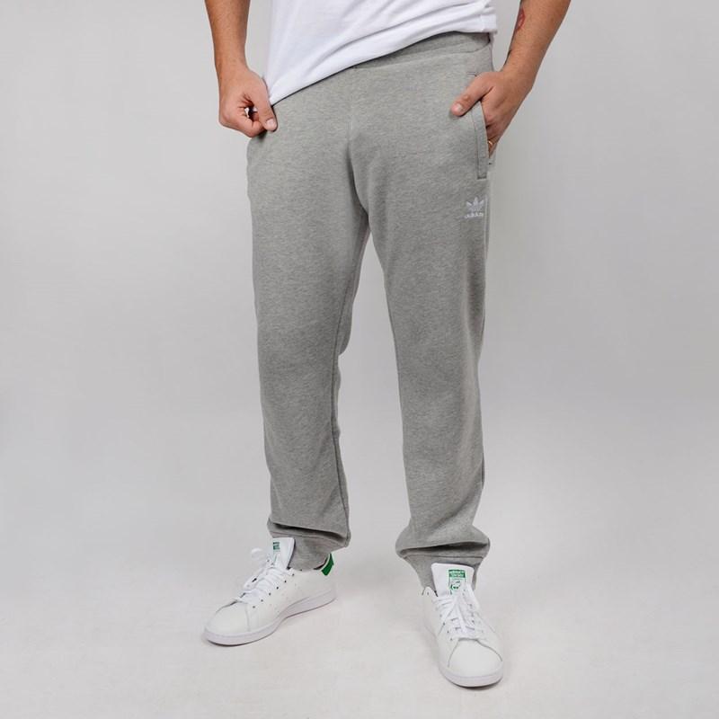 Calça Adidas Masculina Trefoil Pant Cinza DV1540