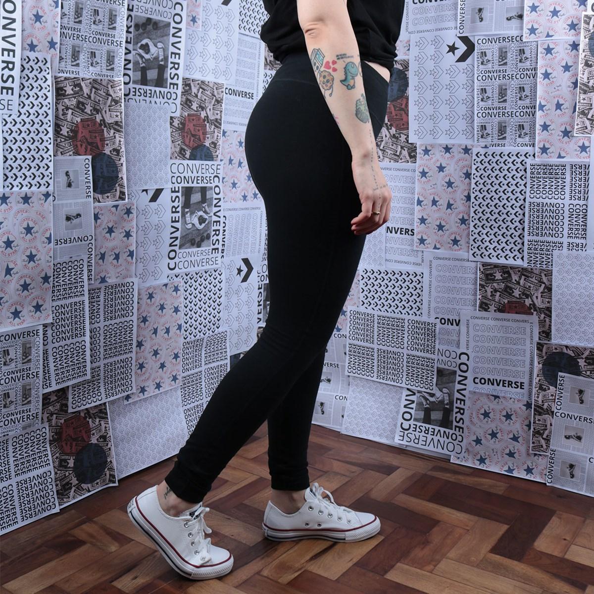 Calça Converse Legging Nova Black 10019466-A01