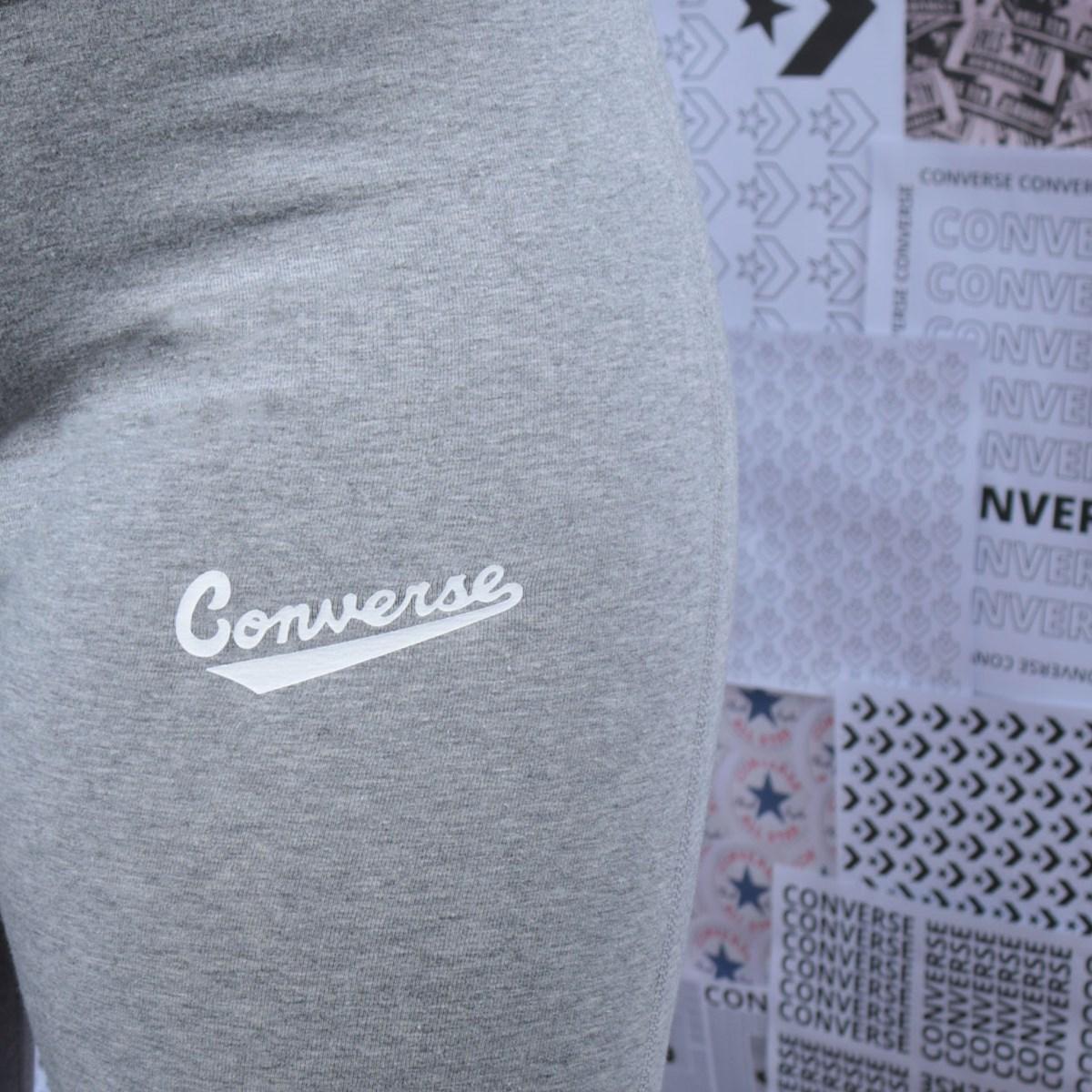 Calça Converse Legging Nova Grey Heather 10019466-A02