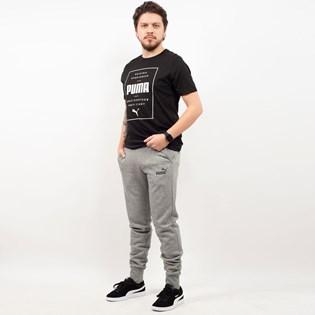 Calça Puma Masculina Moletom ESS Slim Pants FL Cinza 85242803