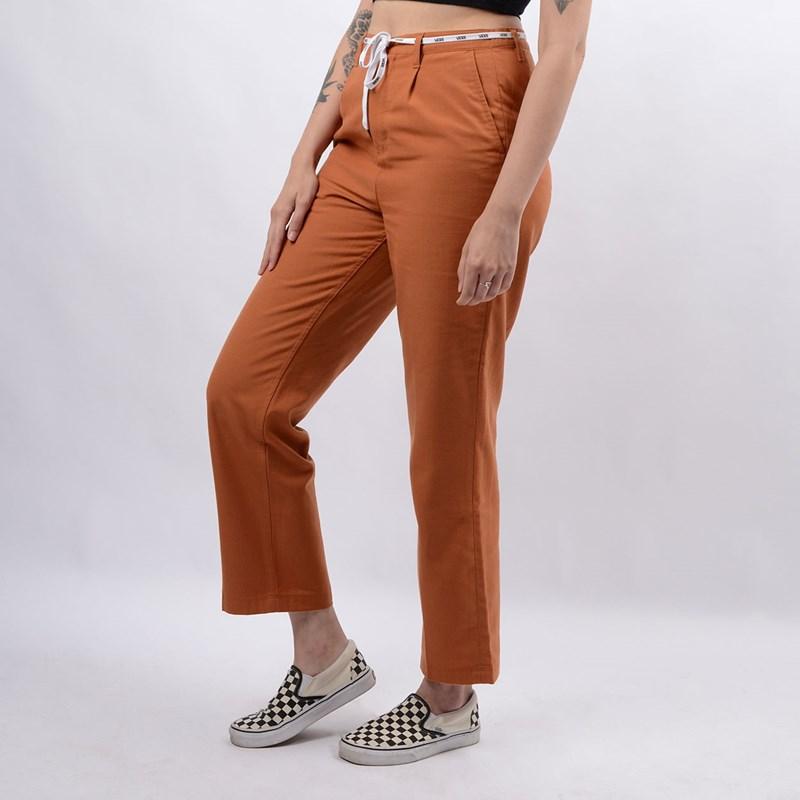 Calça Vans Feminina WM Shoe Lace Pant Adobe VN0A4BFNVWQ