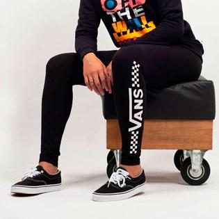 Calça Vans Legging Fun Times Black VN0A3UO5BLK
