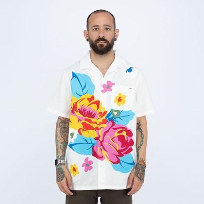 Camisa Vans Anaheim Needlepoint Floral Woven Natural VN0A5FOP7VJ