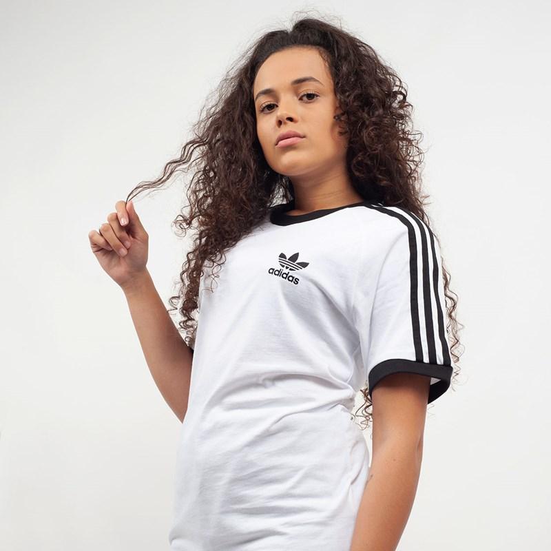 0b6059c75 Camiseta Adidas 3-Stripes Tee Branco CW1203 - Loja Virus