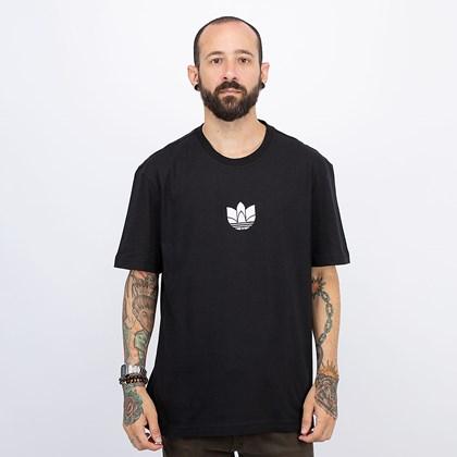 Camiseta adidas Adicolor 3D Trefoil Black White GN3548