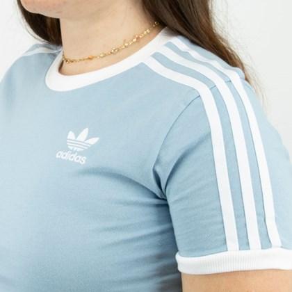 Camiseta adidas Adicolor Classics 3 Stripes Ambient Sky H33574