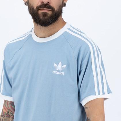 Camiseta Adidas Adicolor Classics 3 Stripes Ambient Sky H37759