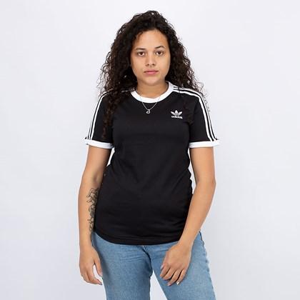 Camiseta adidas Adicolor Classics 3 Stripes Black GN2900