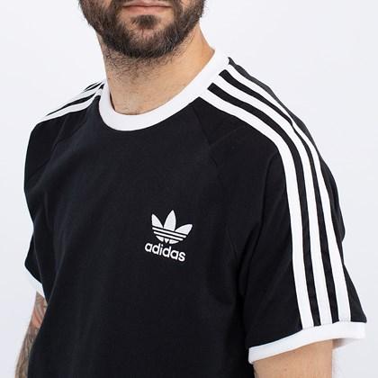 Camiseta adidas Adicolor Classics 3 Stripes Black GN3495