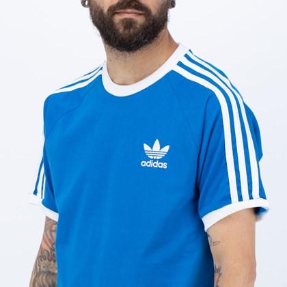 Camiseta Adidas Adicolor Classics 3 Stripes Blue Bird H37757