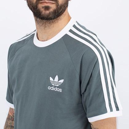 Camiseta adidas Adicolor Classics 3 Stripes Blue Oxide GN3500