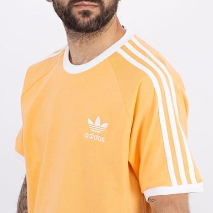 Camiseta adidas Adicolor Classics 3 Stripes Haze Orange GN3498