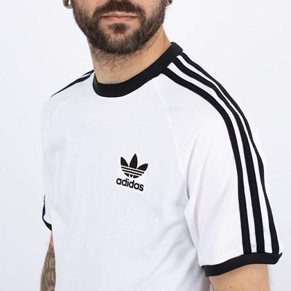 Camiseta adidas Adicolor Classics 3 Stripes White GN3494