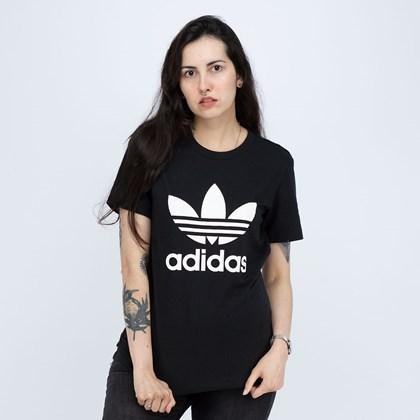 Camiseta Adidas Adicolor Classics Trefoil Black GN2896