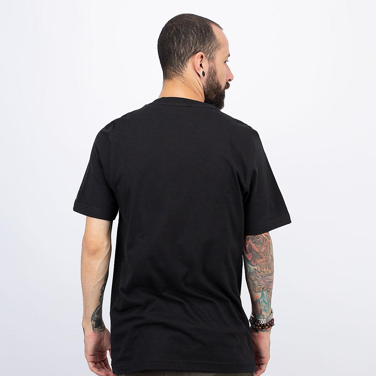 Camiseta adidas Adicolor Classics Trefoil Black White GN3462