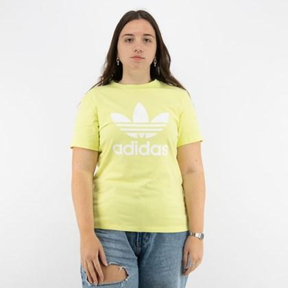 Camiseta adidas Adicolor Classics Trefoil Pulse Yellow H33567