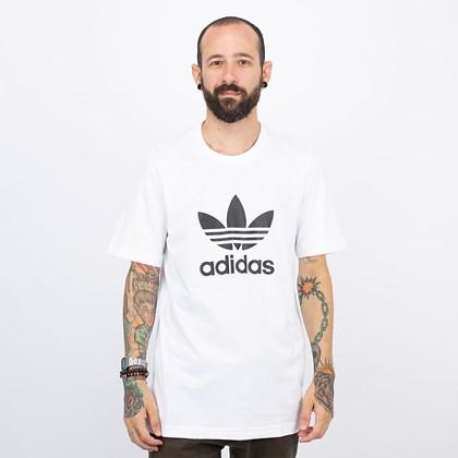 Camiseta adidas Adicolor Classics Trefoil White Black GN3463