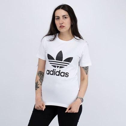 Camiseta adidas Adicolor Classics Trefoil White GN2899