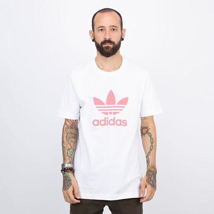 Camiseta adidas Adicolor Classics Trefoil White Hazy Rose GN3485