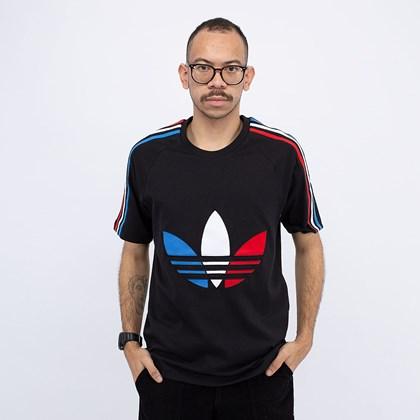 Camiseta adidas Adicolor Tricolor Black GQ8920
