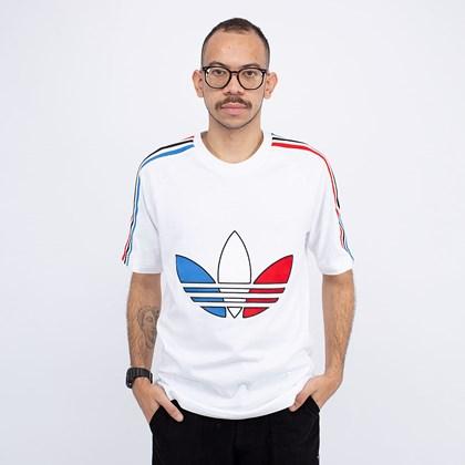 Camiseta adidas Adicolor Tricolor White GQ8921