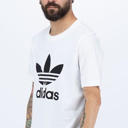 Camiseta Adidas Classics Trefoil White Black H06644