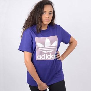 Camiseta Adidas Feminina BF Tee Roxo ED7469