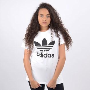 Camiseta Adidas Feminina Boyfriend Tee Branco DX2322