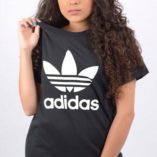 Camiseta Adidas Feminina Boyfriend Tee Preto DX2323