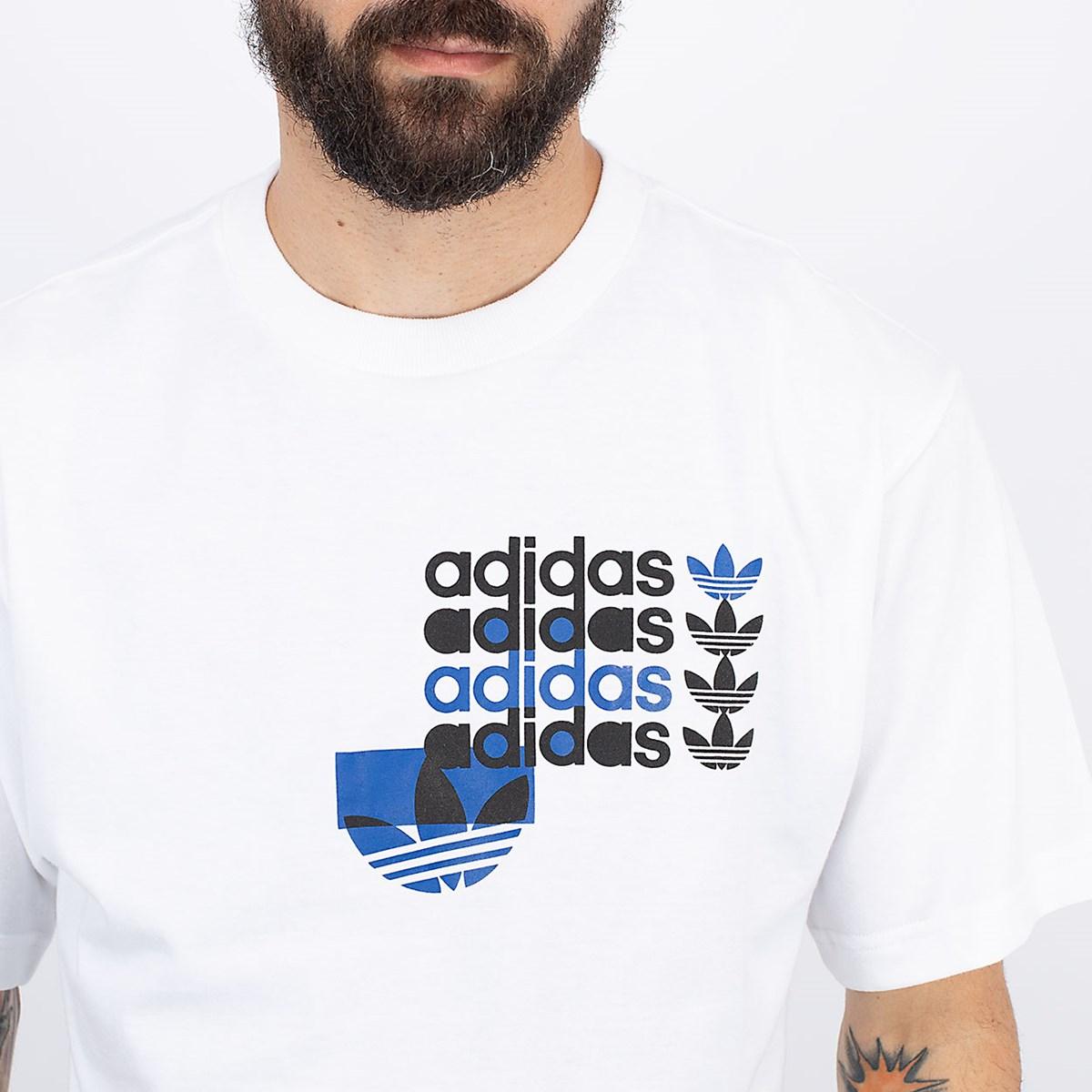 Camiseta adidas Forum White GN3868