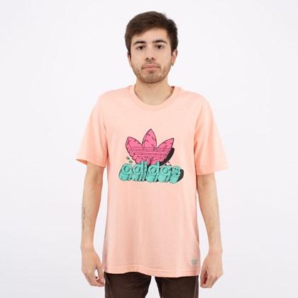 Camiseta Adidas Funny Dino Glow Pink H13450