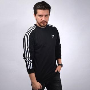 Camiseta Adidas Masculina 3 Stripes LS T Black DV1560