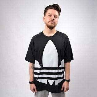 Camiseta Adidas Masculina BG Trefoil Tee Black FM9904